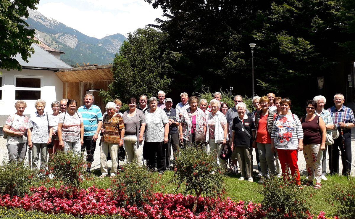 Alle Teilnehmer den Pfarrausfluges 2019 in Innsbruck
