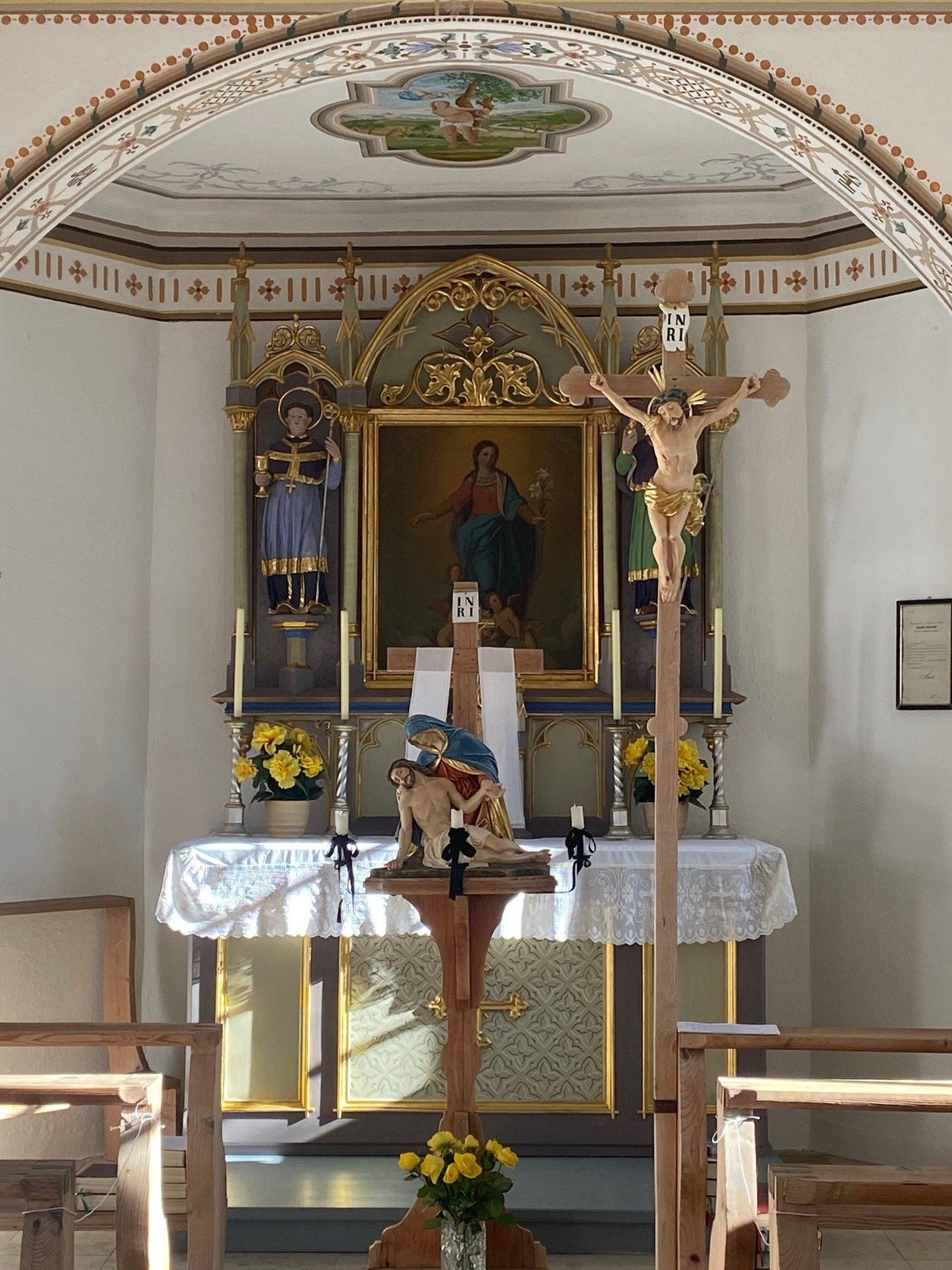 Kapelle Aleuthen Chorraum